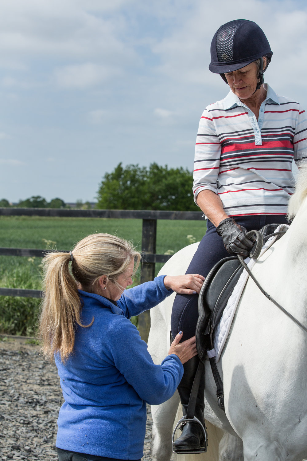 The fit of your saddle doesn't just impact on your horse - you will struggle to maintain a correct position too