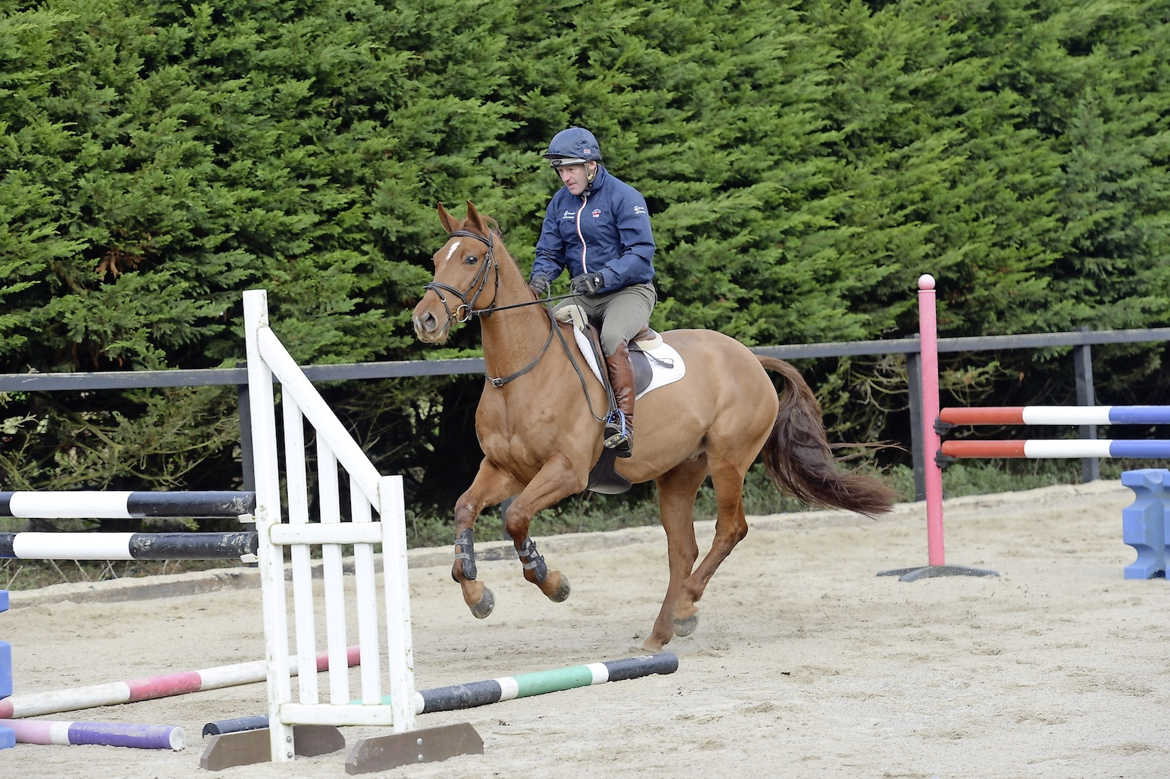 How To Keep Him Straight Over A Jump Your Horse Magazine