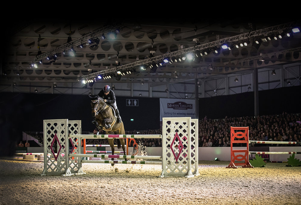 Geoff Billington will be in action again at Your Horse Live 2018
