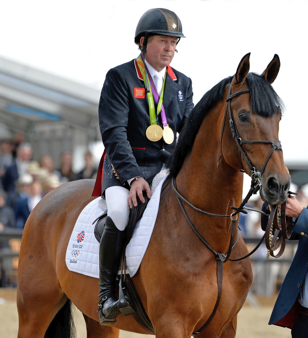 Nick Skelton's very famous horse Big Star will be strutting his stuff at Your Horse Live