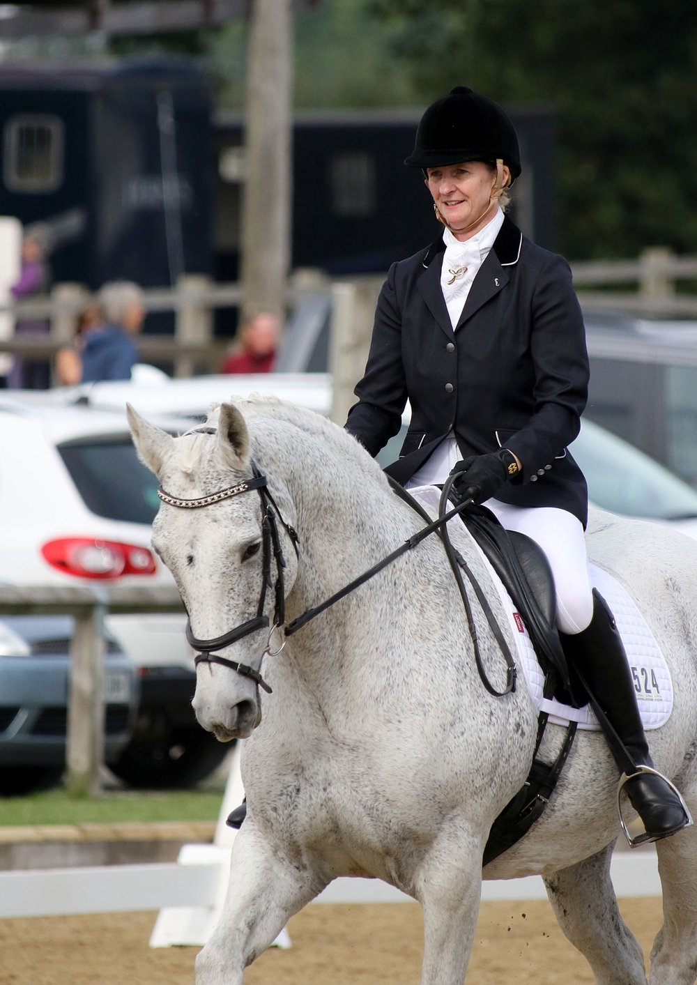 Wendy and Crystal quickly discovered their love of dressage together   pic credit: Emmpix