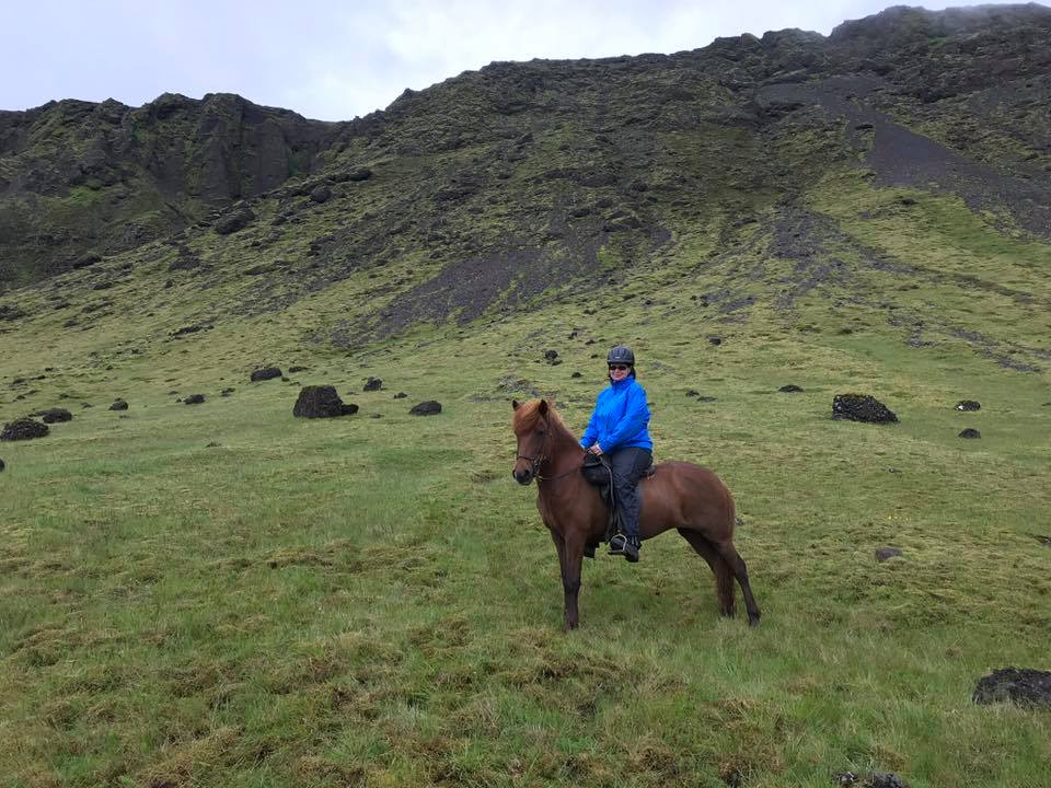 """Elaine Rannie – """"I finished this year's challenge on a high. 1575 miles ridden since 1 April 2018, looking forward to starting again."""""""