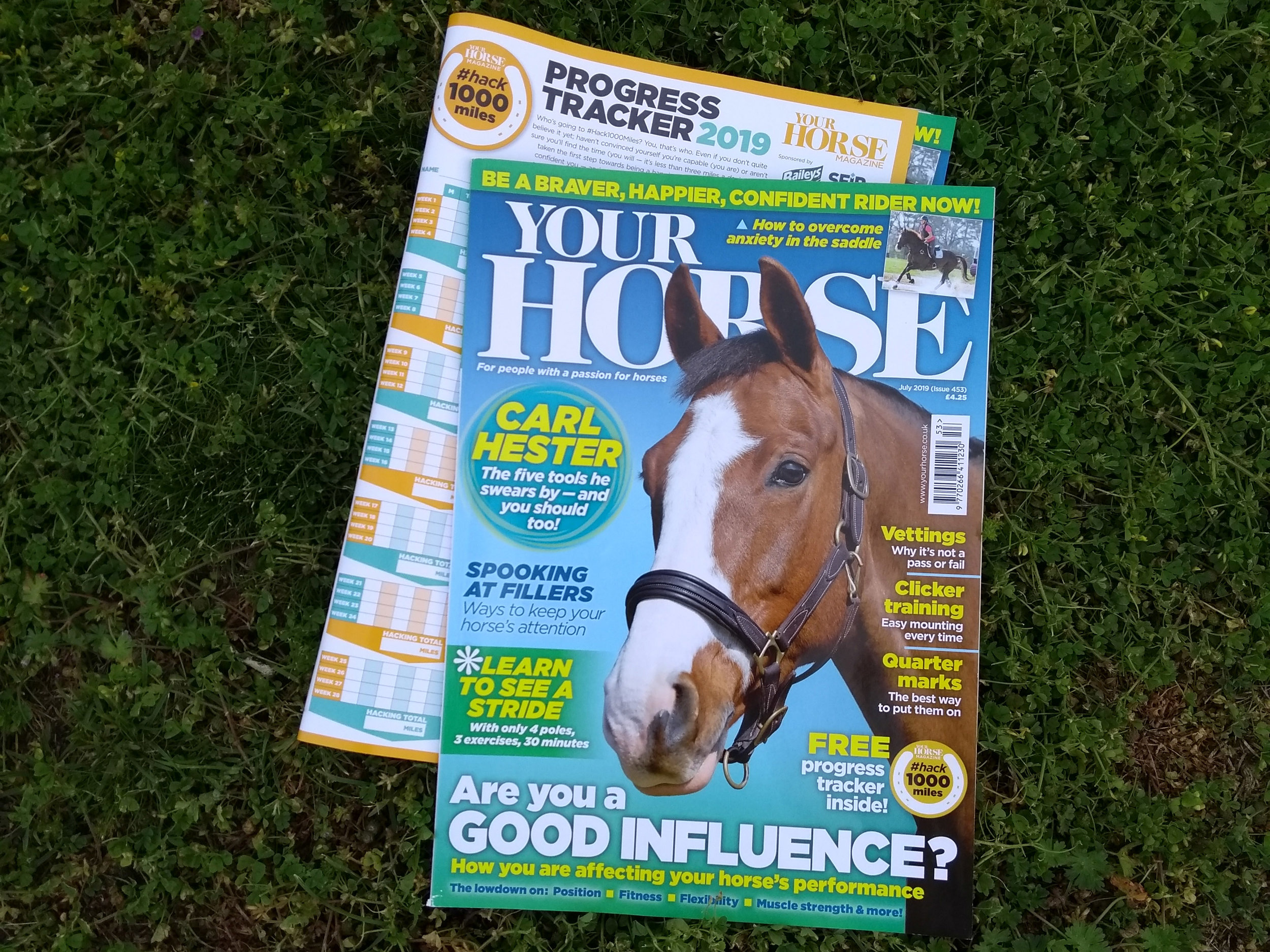 Inside the July issue of Your Horse magazine Your Horse Magazine
