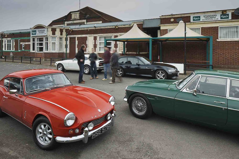 GT6 vs MGC, Datsun 240Z and BMW M Coupe! The Triumph was launched fifty years ago. But can it still pack a punch?