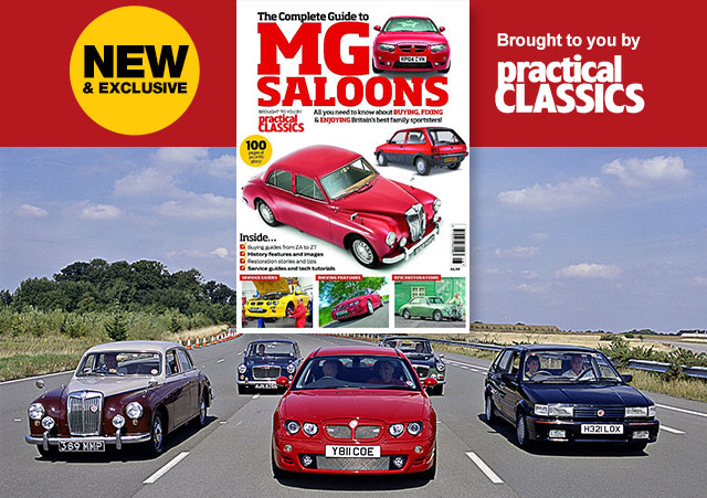 The Practical Classics Guide To Mgb Saloons Practical Classics