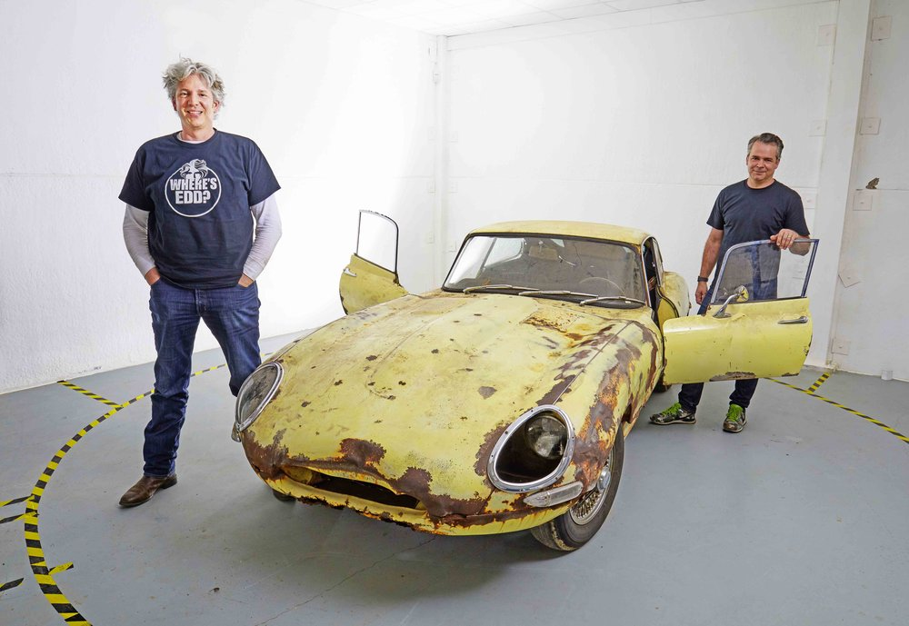 Edd China is back! He and pal Al Cox first met as students studying product design at university. They share a lifelong enthusiasm for classic cars, problem solving and big ideas and now, they're back in the workshop together to bring their passions to life. They'll be restoring a beautiful 1967 Series 1 and a half E-Type Coupe and delivering a wealth of 'how to' videos and writing about it in Practical Classics. As 'Built By Many', they want to celebrate our automotive heritage by keeping classic cars on the road - not housed in museums or stuck waiting for restoration at the back of the shed. If this is music to your ears, then please join them at builtbymany.com and get involved.