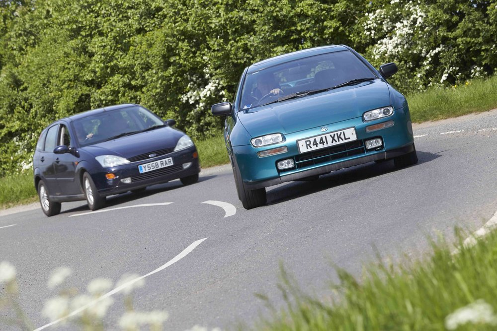 We reckon two groundbreaking family cars have become modern classics. The Ford Focus is 20 and the Mazda 323f is 25. The sharp little Ford changed the way we see family cars forever and the Mazda is a technological tour de force with that slippery shape and V6 engine. We show you why you need to buy one now, in a full road test of both in the current issue of Practical Classics.