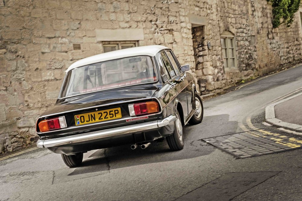 Given its Dolomite-esque snout and bottom, at first glance you might imagine the Apache is Triumph-based but as Ian points out: 'Look at that centre section and it's pure ADO16'. BMC's 'Amalgamated Drawing Office project number 16' was better known to Brits as the best-selling Austin/Morris 1100/1300 ranges, with Riley and MG badges slapped onto the bonnets of other variants in the UK. Issigonis' best-selling design made its mark in Europe too, with examples being built in Belgium, Malta, Italy (as an Innocenti) and Spain (as the curiously named Authi) and later surfaced in Australia as the Morris Nomad (a Maxi-like hatchback). The South African Apache was to be the final incarnation of the ADO16, built between 1971 and 1978. Whilst that familiar centre-section was a bit of a giveaway, the brand new Michelotti styling elements incorporated Toledo headlamps and tail lights from the Triumph 2000, turning it into a handsome little notchback. But what must it be like to restore an Apache? We talk to a man who did, in the September issue of Practical Classics…