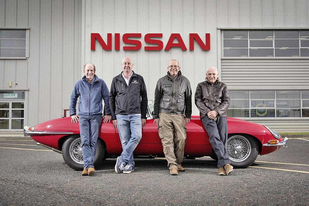 "Andrew Small had been working on his E-type restoration for more than 20 years when he was diagnosed with cancer. As frightening as it was, this grim news led to an amazing team effort to finish the car. He was used to the camaraderie of the large engineering office at Nissan, but he had no idea it would extend beyond his forced departure from work. Then one day in May 2014, the doorbell rang. 'It was a pal of mine from the office, Steve Clare. He said ""we've had a chat at work and we'd like to help with the E-type."" It was quite a surprise - I was choked up.'  Andy bought his 1964 Jaguar E-type roadster in 1994, as a restoration project. He paid 'the price of a Fiesta', as he puts it, but even that might have been a bit high for what turned out to be a basket case. This touching story of bravery and friendship is a must-read. Pick up a copy of the new issue of Practical Classics for the full tale…Classics…"