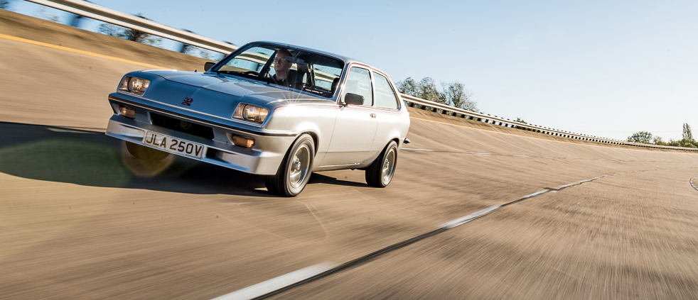 Launched in January 1978 with Vauxhall's Magnum-spec 16-valve 2,279 cc slant-four engine, five-speed box, uprated brakes and suspension and a full front air dam the Chevette HS looked like it meant business. It did – it won a lot - and could give any Escort a run for its money.  Loved by drivers, feared by rivals and undervalued by the classic market, the Vauxhall Chevette HS is 40 years old this year. To celebrate we visit the three sites most closely associated with the 135 bhp 'Silver Roller Skate' by driving from the Millbrook Proving Ground where it was tested, to the Luton Factory where the Chevette was first built and where Vauxhall is still based, to the former Station Works at Shepreth, where Blydenstein Racing – otherwise known as Dealer Team Vauxhall – had their engineering base. Get the full story in the current issue of the magazine…