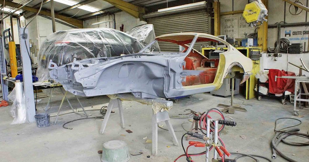 Paul Henley stripped his new project with a view to carrying out a bare metal, nut and bolt restoration. He'd managed to secure a rotisserie that had last been used to hold a Triumph Stag and soon had the shell suspended. This allowed hime to strip it to the bare metal, primarily with a blow torch and scraper to remove the original underseal protection from the floors. Find out what happened next, in the new issue of Practical Classics…