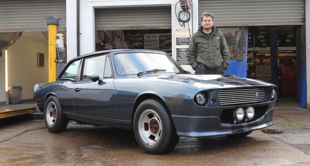 It's a Stag… but not as we know it. Read about this incredible machine in the March 2019 issue of Practical Classics!