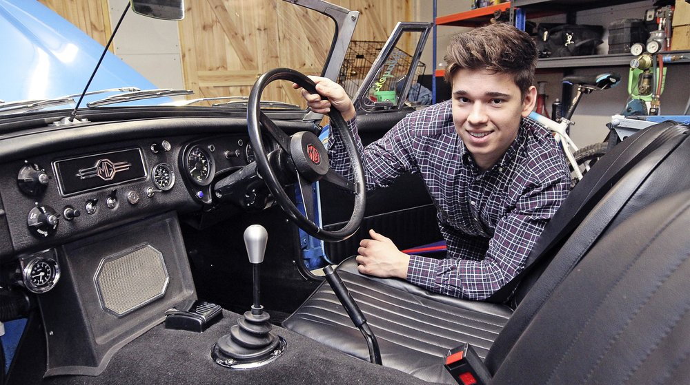 Will and his dad started the project at home in 2013 with the purchase of donor car. They looked into other 4 and 6-cylinder options, including TVR Speed Six and a Red Top. In the end though, they decided on a Rover V8 conversion and began a project that would prove to be significant beyond anything they'd ever experienced. As the pair progressed, Will's dad was diagnosed with cancer. Despite pauses for his chemotherapy, they worked closely and made great progress together. This meant dad teaching son how to weld, among many other things. But time was, sadly, running out. Find out how a brave Will coped in this inspiring story in the new issue of Practical Classics.