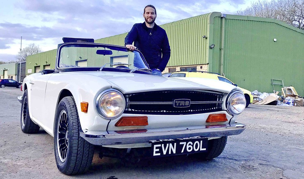 Find out out Matt George's project TR6 is going, just months after its restoration. And there's some big news on Editor Danny Hopkins' Interceptor!