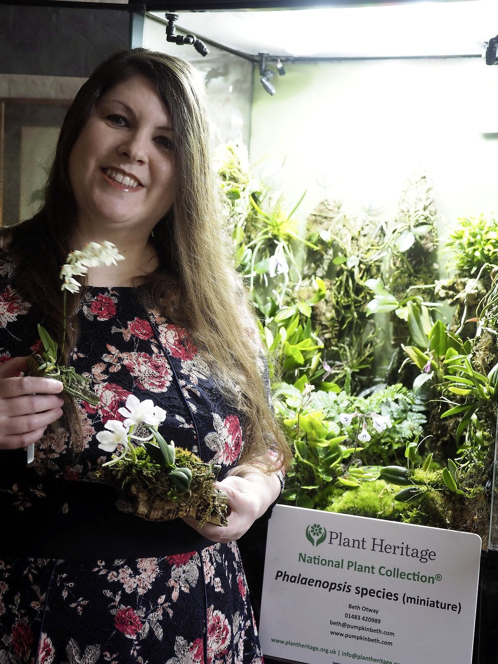 Terrarium-maker and fanatical orchid grower from Surrey