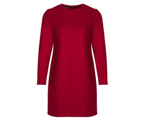 Vestido rojo de Roberto Verino