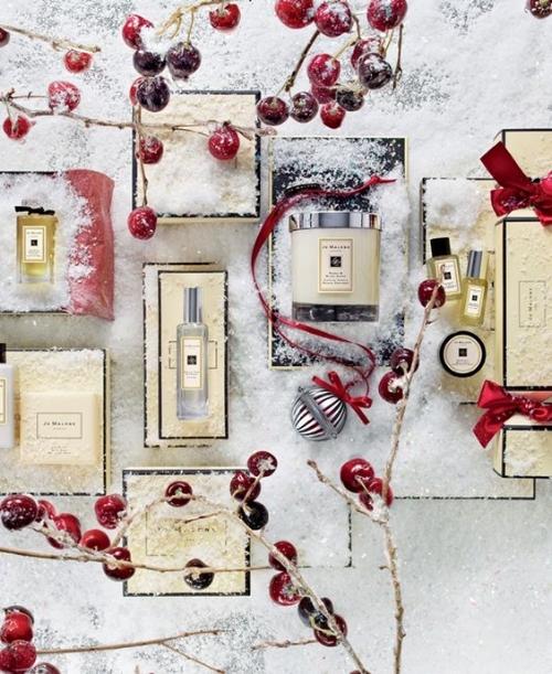 Set de Navidad con fragancias y velas de Jo Malone