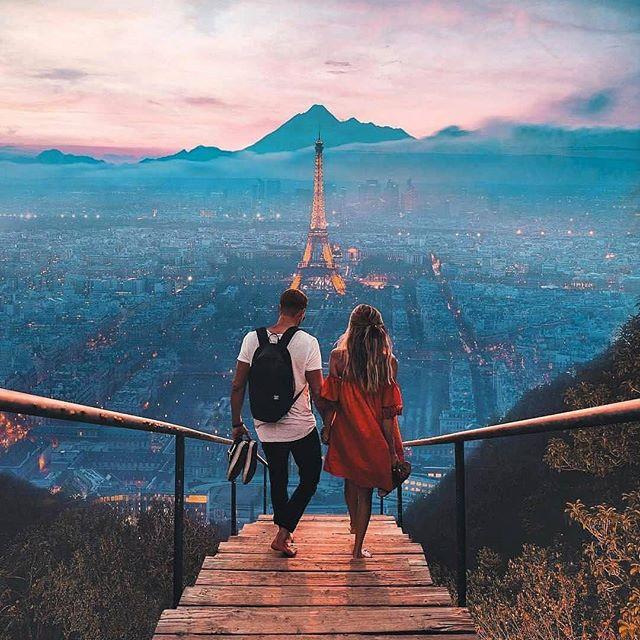 Hoy brilla más que nunca, como ciudad del amor que es. Que San Valentín sea todos los días y no sólo un 14 de febrero. Buenos dias! 😊📸💞❤️😍📸😊 #wednesday #miercoles #goodmorning #goodvibes #valentinesday #sanvalentin #paris #parisianlife #toureiffel #love #loveisallaround #amour #couple #bettertogether #luxury #luxurylifestyle #instapic #instamoment #instatravel #travel #travelingram #traveller #travelpic #travelworld #globetrotter #wanderlust #top #cityview #blackpeonia