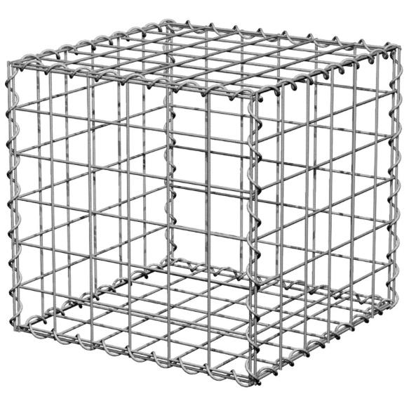 Galvanised cube £10.43