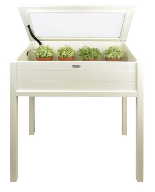 Tall wooden coldframe on legs £99.99 Primrose 0118 903 5210; www.primrose.co.uk