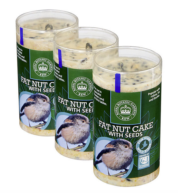 CJ Wildfoods Fat Nut Cake with seeds John Lewis 0870 218 3798; www.johnlewis.com