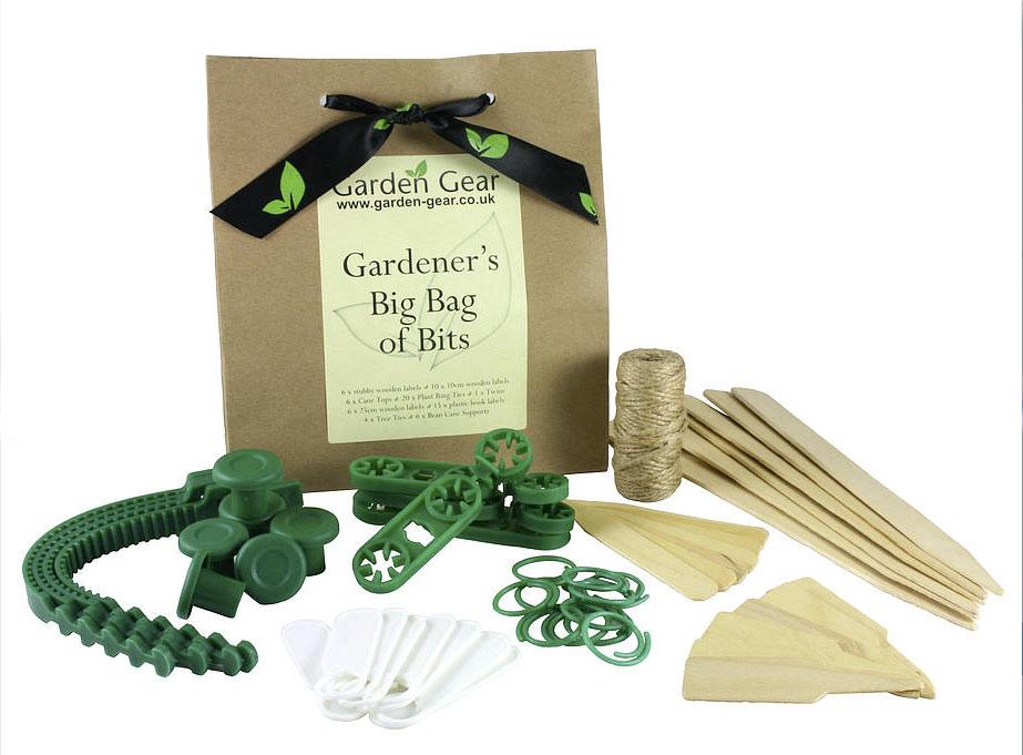 Gardener's Big Bag of Bits £14 Garden Gear at Not on the High Street 0203 318 5115; www.notonthehighstreet.com