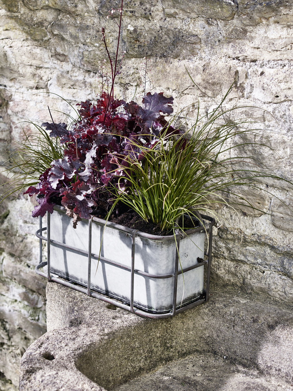Industrial Style Trough Planter £35 Cox and Cox www.coxandcox.co.uk