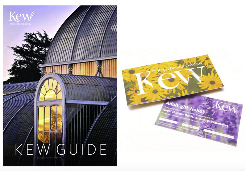 Two Kew adult gift tickets £35 Kew Shop 0208 332 3123; www.kew.org