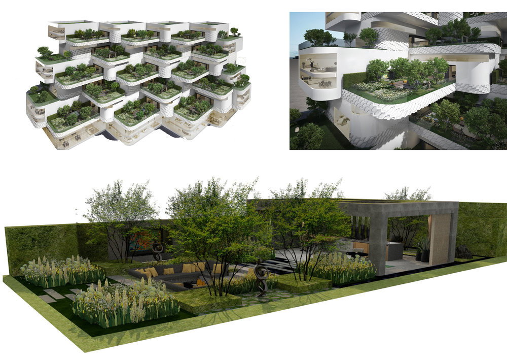 Eco city garden for LG Electronics by Hay Hwang