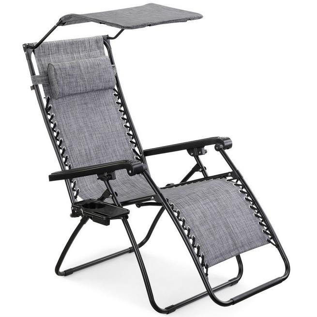 VonHaus Zero Gravity chair with canopy £49.98 Domu 0161 833 5443; www.domu.co.uk.jpg
