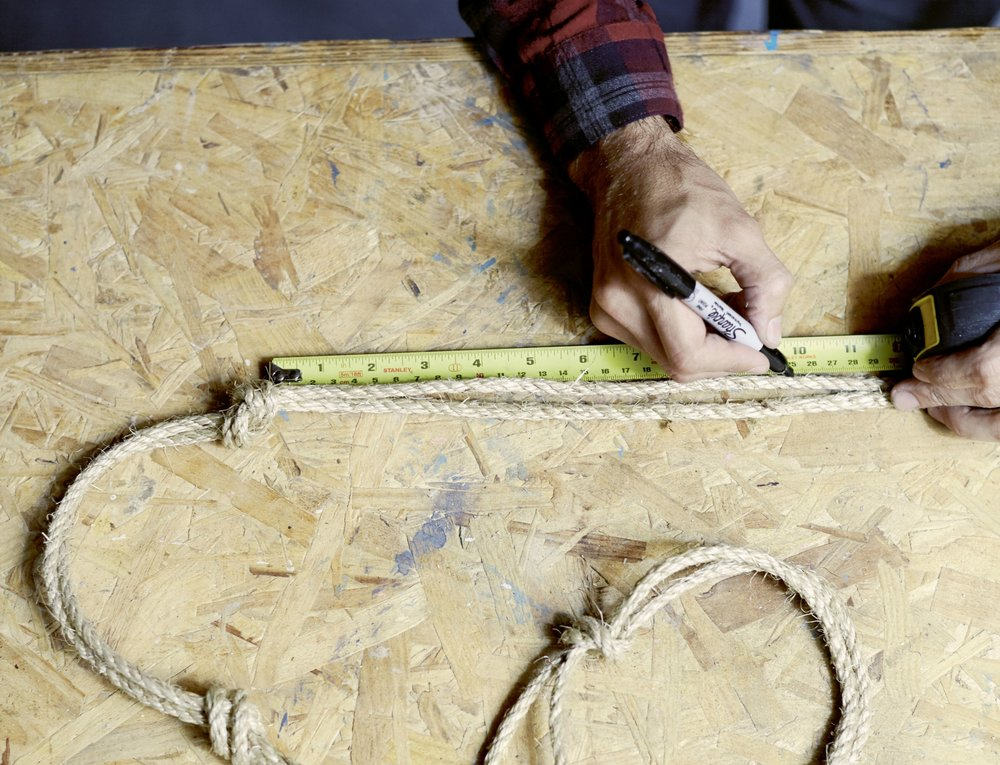 4. Measure and knot ropes.jpg