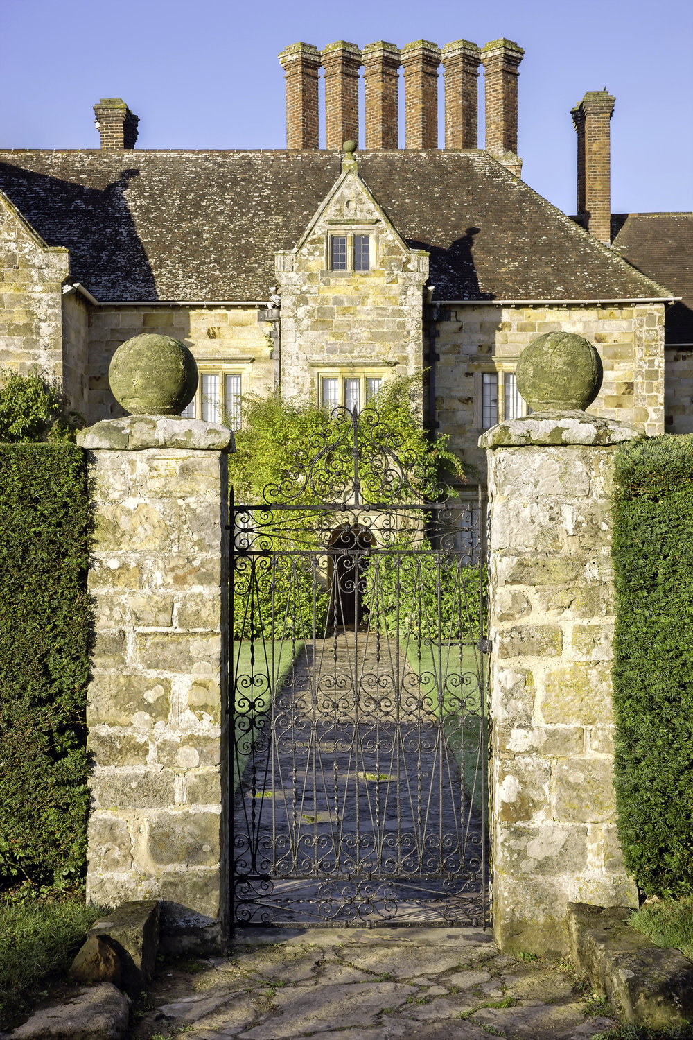 The Jacobean manorhouse