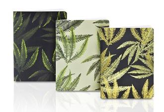 A6 fern notebooks