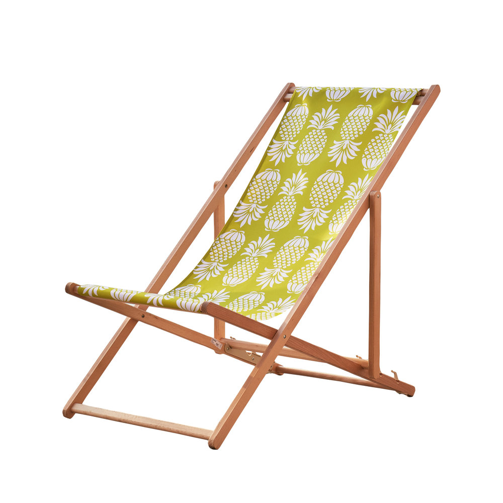 Pina Colada Chartreuse Deckchair