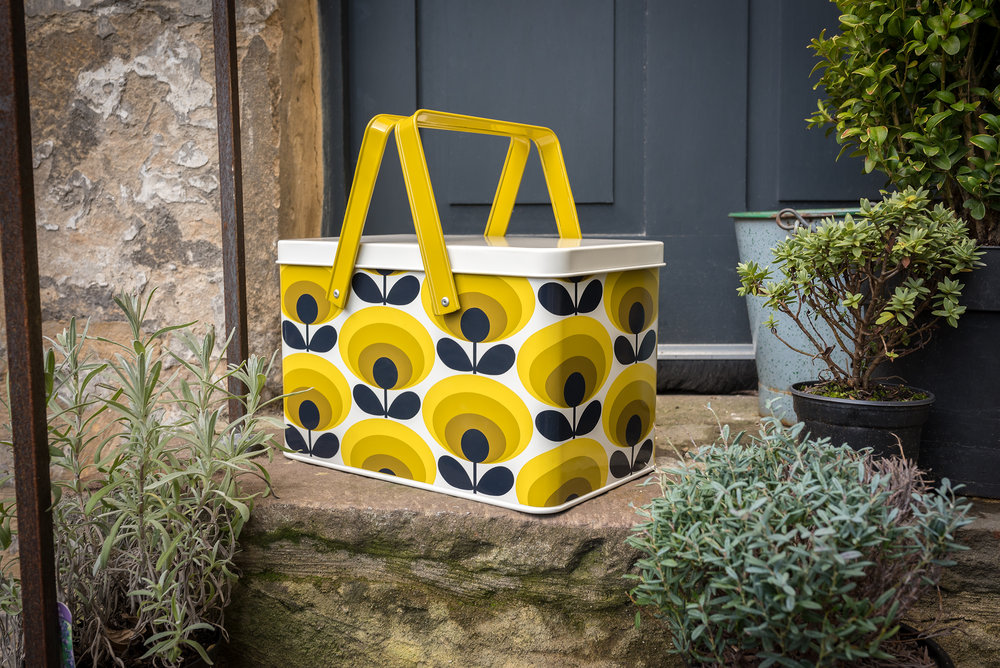 Orla Kiely 70s flower tool box