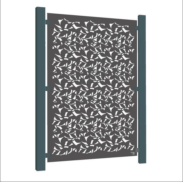 Weathering decorative aluminium screen