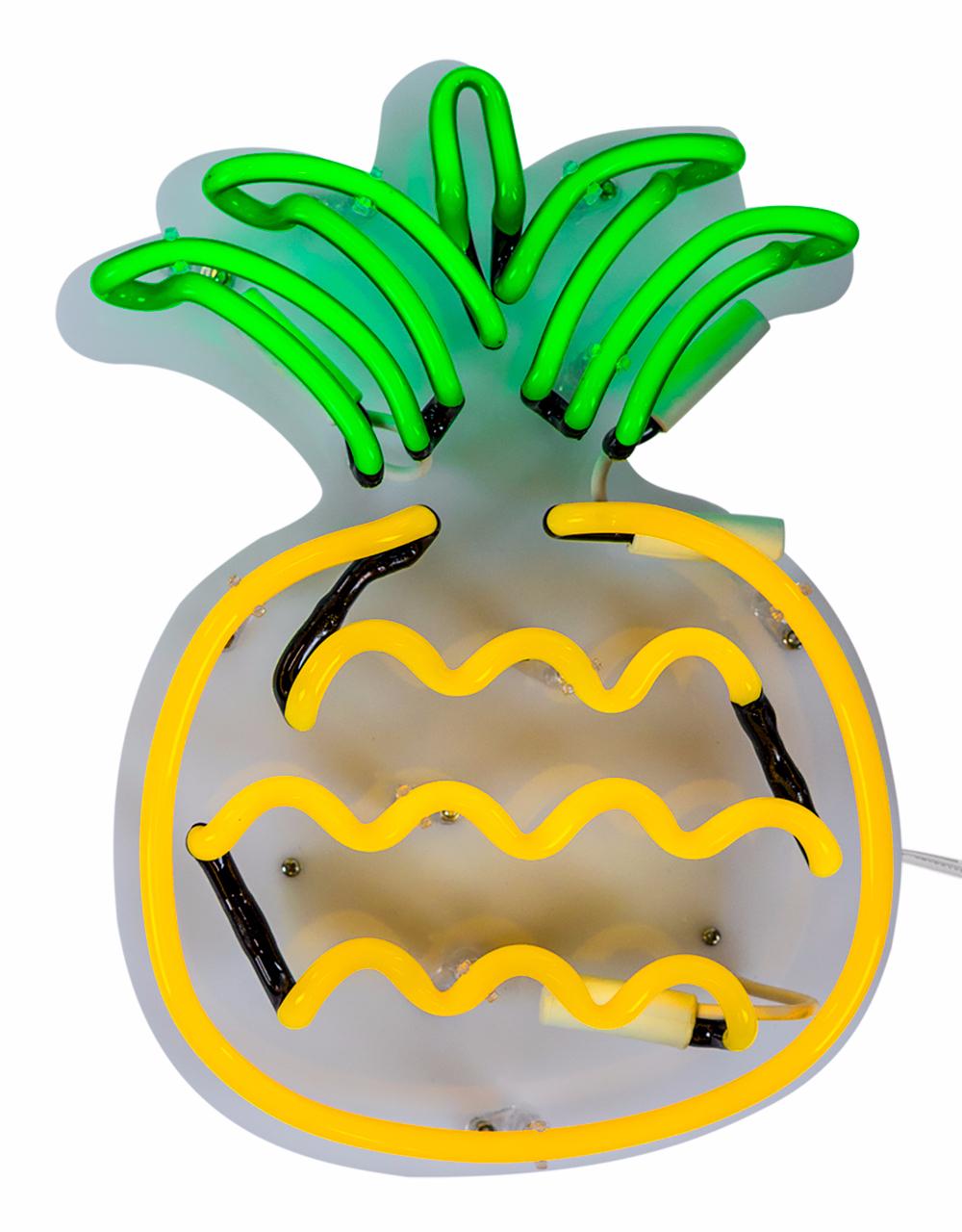 Neon pineapple light