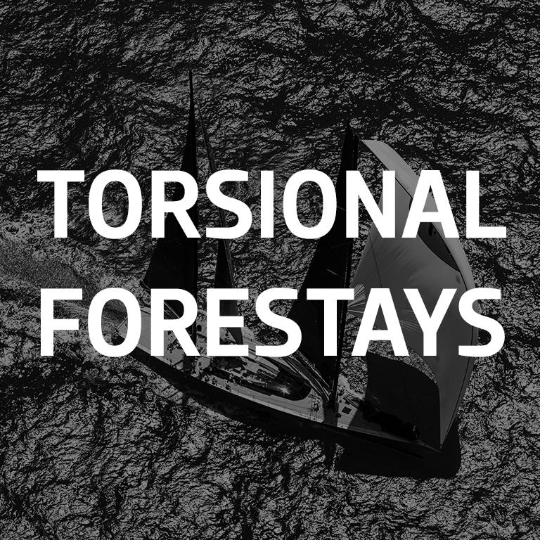 TORSIONAL FORESTAYS