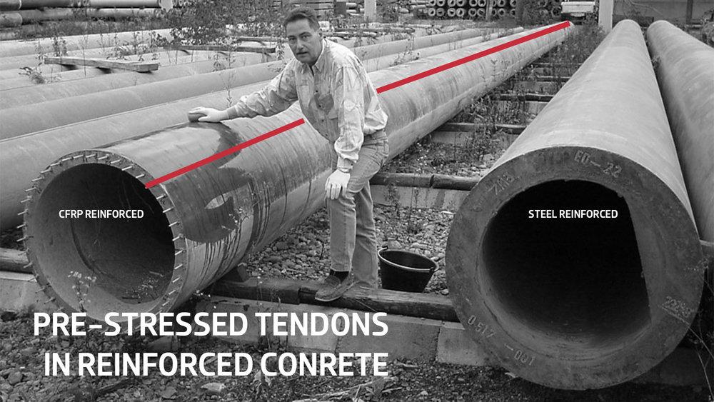 PRE-STRESSED TENDONS