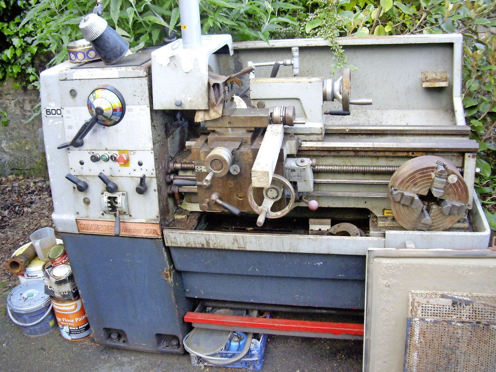 A Colchester lathe is the ultimate but small is beautiful too – you'll grow in skills and confidence as you go