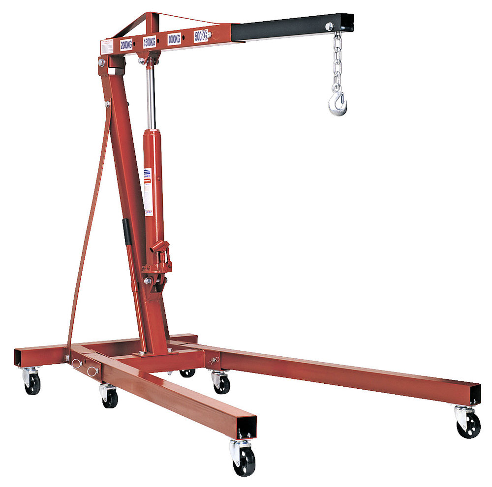 Hiring an engine hoist saves you buying one (and storing it) -
