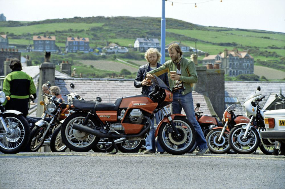 Mocked for his love of the Le Mans, Nicksy proved that the Guzzi wasn't just heart-over-head