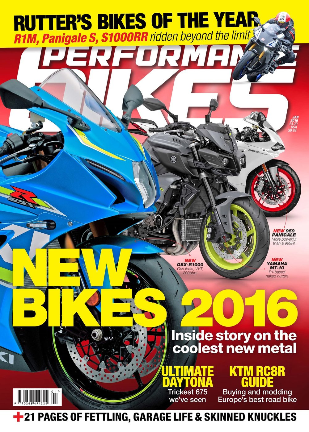 Performance Bikes Januray 2016 issue