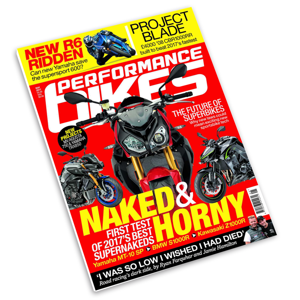May 2017 Performance Bikes