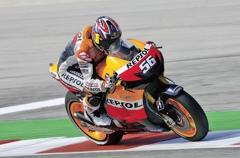 JR got a wildcard Repsol Honda GP ride in 2012.
