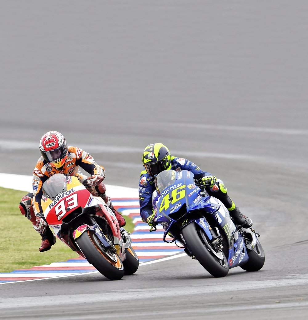 McWilliams is adamant that if there were consistent sanctions for track-based gross misconduct, Marquez would have thought before pushing Rossi wide on to the grass