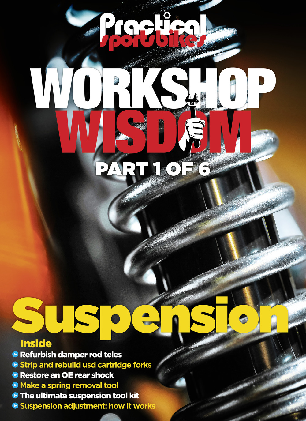 Workshop Wisdom issue 1: Suspension
