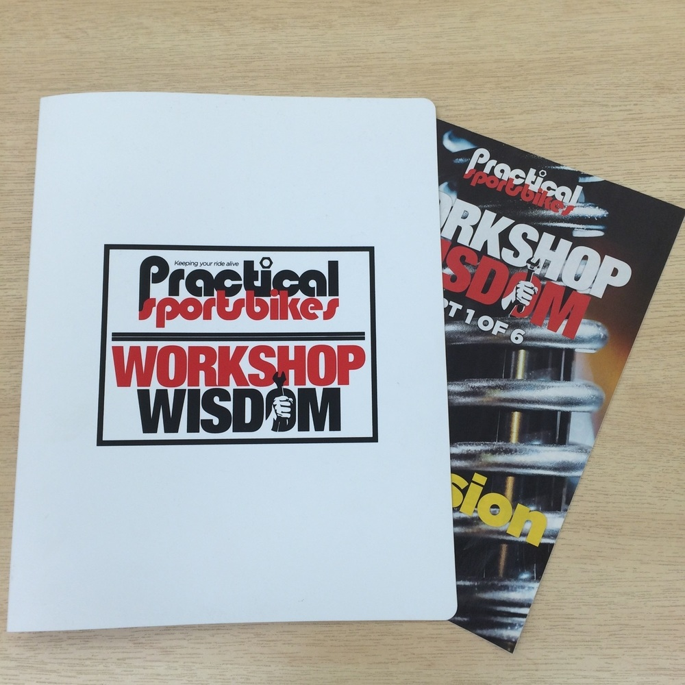Workshop Wisdom binders