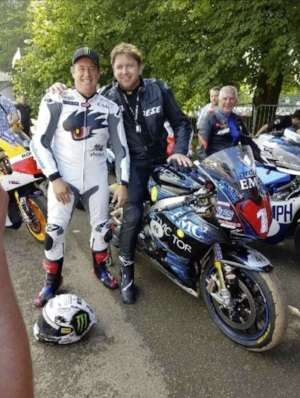 John McGuinness meets James Martin at Goodwood Festival of Speed