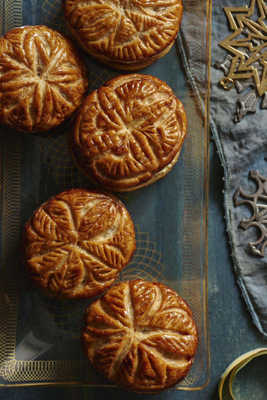 Chocolate chestnut pies, from LandScape magazine Jan/Feb 2017
